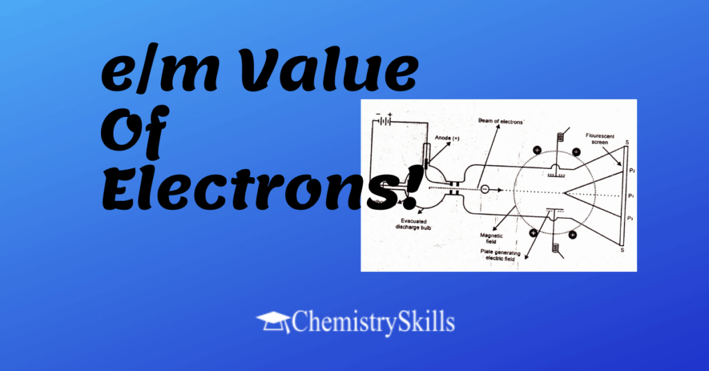 em value of electrons